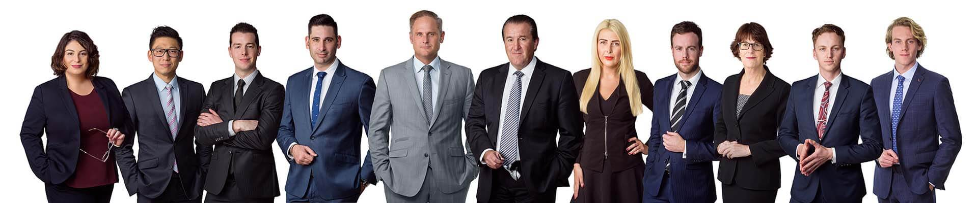 Dribbin and Brown Criminal Lawyers Melbourne Team