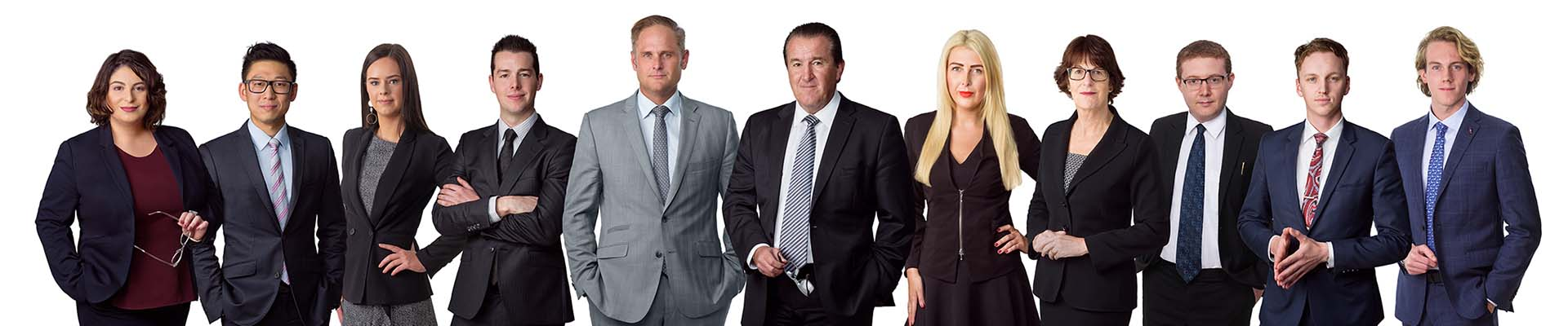 Dribbin and Brown Criminal Lawyers Melbourne Team 2021